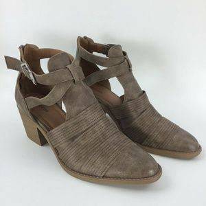 Maurices size 12m brown bootie